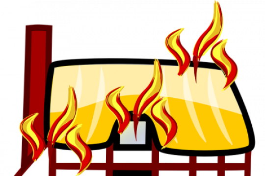 Rumah tinggal terbakar di Jakarta Selatan