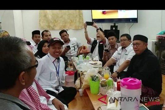Laporan dari Mekkah - Menag monitor jamaah saat layanan katering disetop