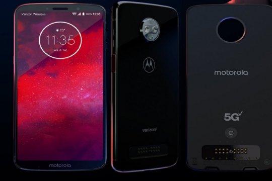 Motorola terjun ke pasar ponsel mahal berjaringan 5G