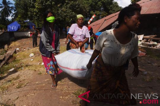 Distribusi bantuan korban gempa terkendala kurangnya kendaraan