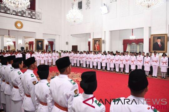Tarrisa terpilih bawa bendera upacara HUT Kemerdekaan