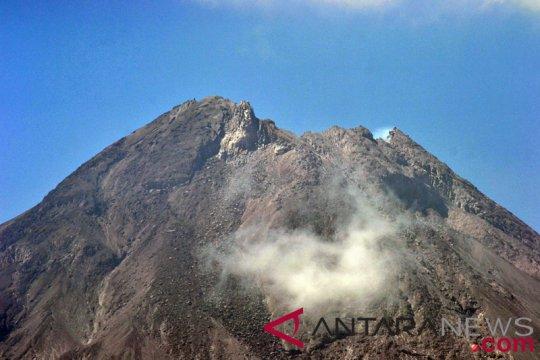 Cuaca Gunung Merapi cerah