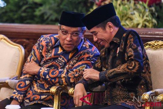 PBNU ucapkan selamat kepada Jokowi, Din Syamsuddin, dan Haedar Nashir