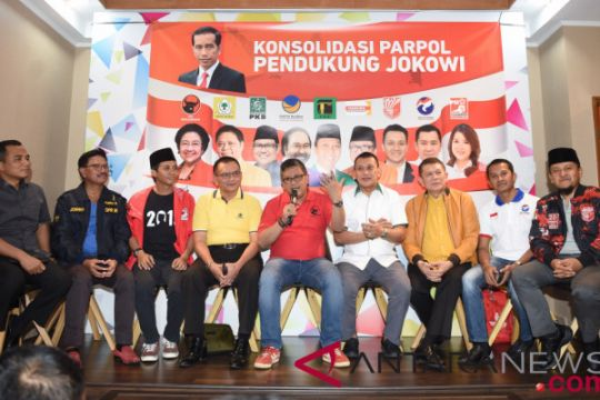 Jokowi dijadwalkan beri arahan kepada sekjen parpol pendukung