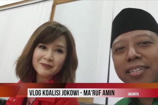 Vlog koalisi Jokowi-Ma'ruf