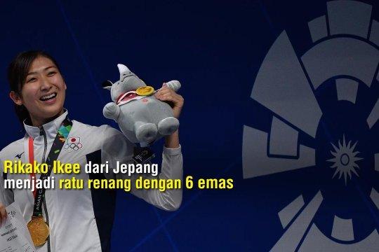 Jepang dan Rikako Ikee kuasai renang Asian Games 2018