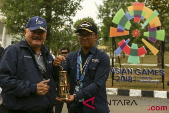 Api abadi Asian Games tinggalkan Palembang