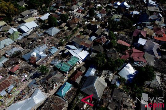 Tiga gempa susul gempa 7 SR di Lombok malam ini