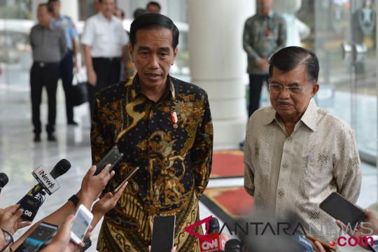 Jokowi imbau jangan ramai-ramai daftar ke KPU