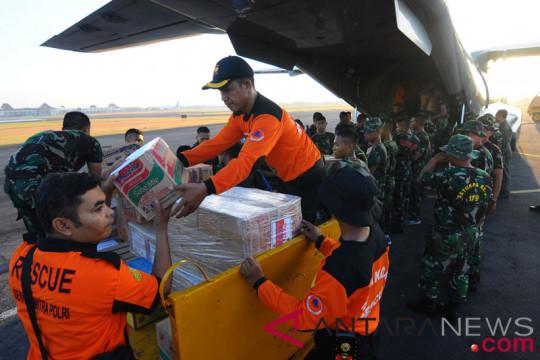 TNI-Polri Jawa Tengah kirim bantuan ke Lombok