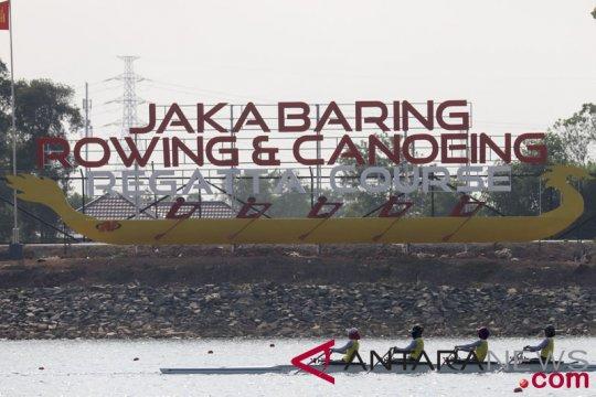 395 atlet siap berlomba cabang dayung Asian Games di Palembang