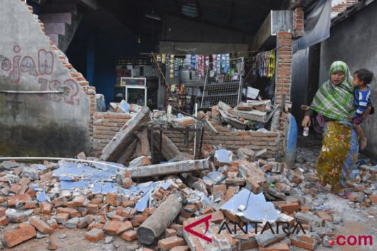 Simpati untuk korban gempa mengalir lewat #PrayForNTB