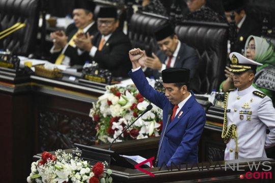 Setara: Pidato Jokowi mengandung pesan kebangsaan kuat