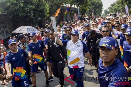 Torch Relay Asian Games 2018 Di Jakarta Barat