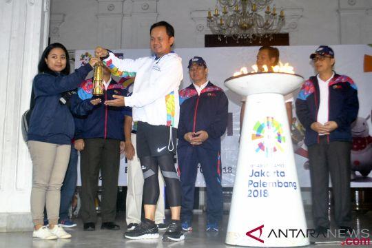 Api Obor Asian Games 2018 di Bogor