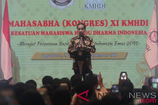 Presiden Buka Kongres Mahasabha XI KMHDI