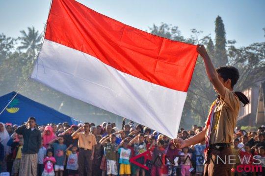 Di Mataram, bendera berkibar tanpa upacara