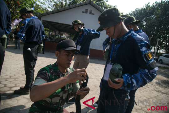 SMN Kalteng mendapatkan pembekalan bela negara