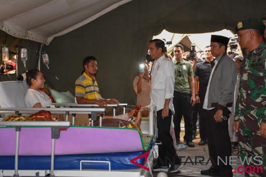 Presiden Jokowi perkenalkan teknologi rumah sehat tahan gempa