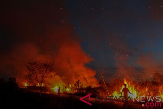 Upaya Pemadaman Kebakaran Lahan