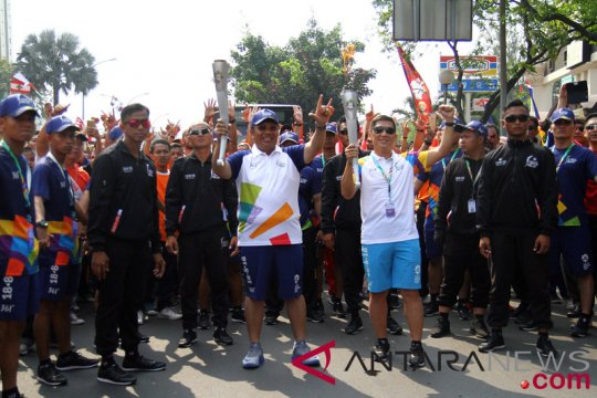 Kirab Obor Asian Games 2018