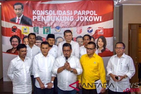 Sekjen KIK bertemu dengan simpul relawan Jokowi-Ma'ruf