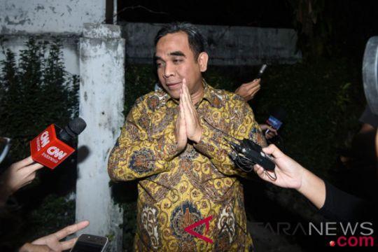 Pertemuan Sekjen Partai Pendukung Prabowo