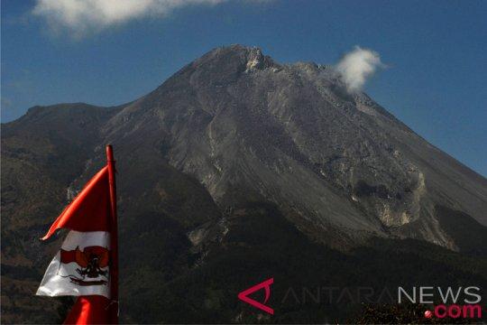 Pertumbuhan Kubah Lava Gunung Merapi