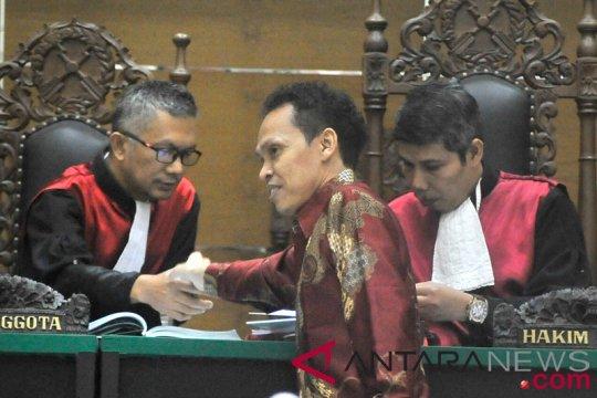 Sidang Vonis Kasus Suap Hakim PN Tangerang