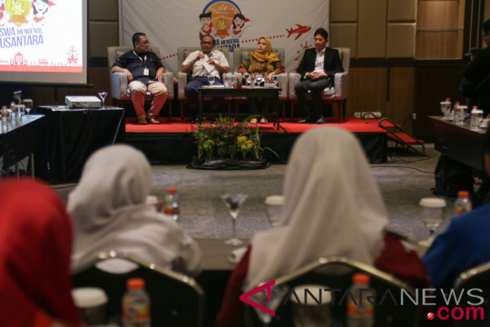 SMN Kalteng kunjungi Grhatama Pustaka Yogyakarta