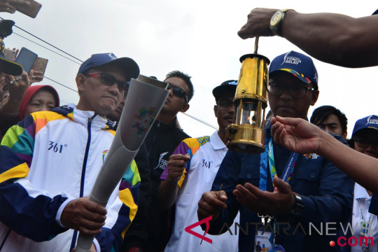 Torch Relay Asian Games 2018 Di Garut