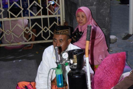 Warga Mengungsi Akibat Gempa Lombok
