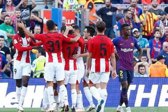 Barcelona kehilangan dua poin lagi ketika diimbangi Bilbao