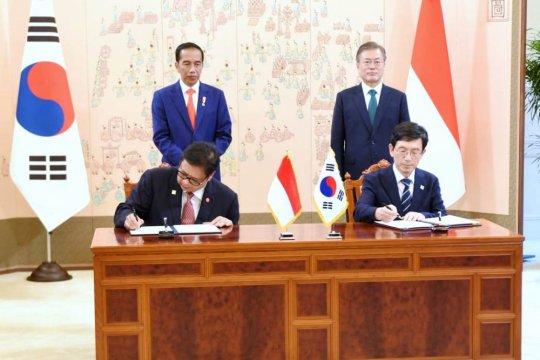 Presiden Moon Jae-in berharap persahabatan Korsel-Indonesia kian erat di 2019