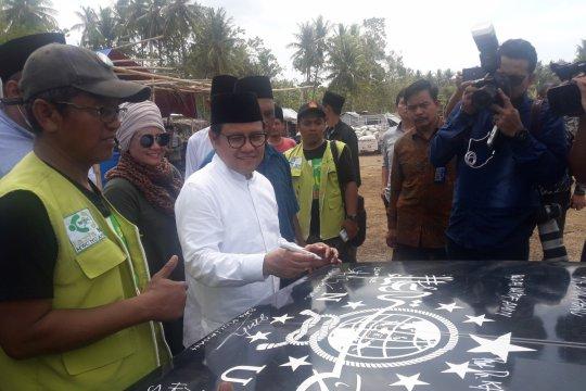 Cak Imin harap seni bisa jadi panglima di Indonesia