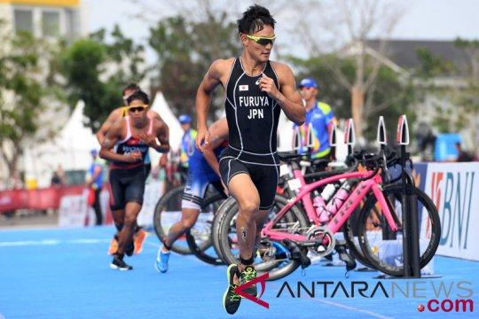 Beregu campuran triatlon tutup perjuangan jawara Asia