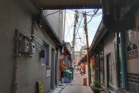 Jalan-jalan ke Desa Seochon dan pasar tradisional Tongin