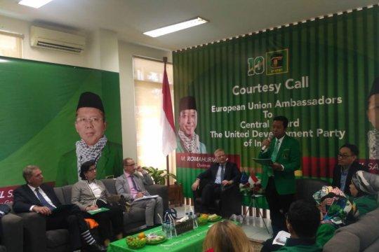 PPP dan Uni Eropa mendiskusikan stabilitas politik Indonesia