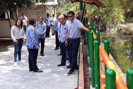 Kawasan kumuh bantaran Sungai Gajah Wong-Yogyakarta ditata