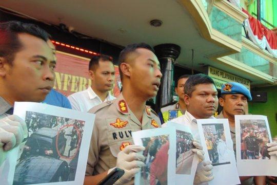 Polisi tangkap lima pelaku main hakim di Jalan Hayam Wuruk