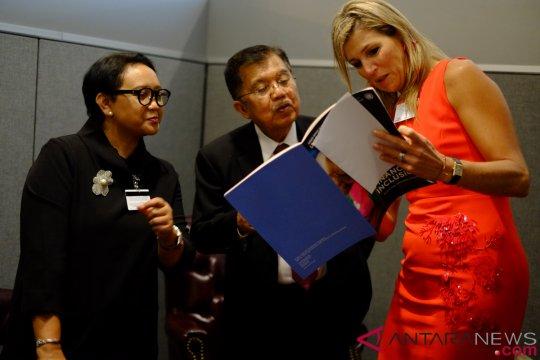 Wapres Jusuf Kalla-Ratu Maxima bicarakan inklusi keuangan