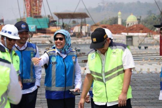 Jasa Marga sebut konstruksi Jembatan Kalikutho Tol Semarang-Batang telah selesai