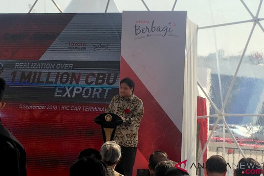 Realisasi ekspor Toyota lampaui 1 juta unit