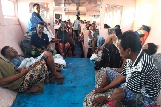10 penumpang KM Fungka Permata ditemukan meninggal