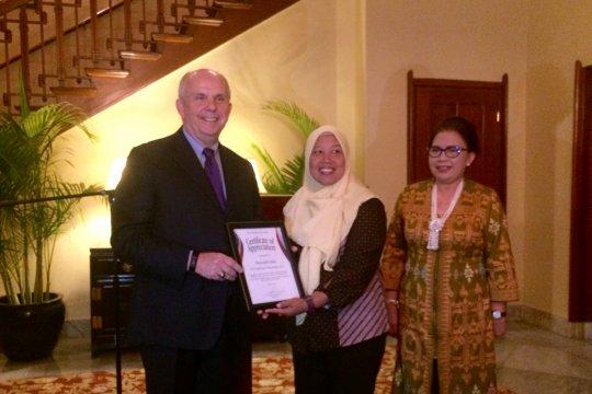 """Mantan TKI Wonosobo terima penghargaan """"TIP Report Hero"""" dari pemerintah AS"""
