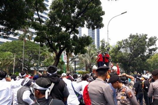 Pegawai honorer Jakarta demo tuntut jadi PNS