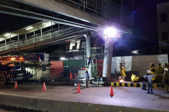 Perbaikan JPO Daan Mogot Jakarta Barat paling cepat lima hari