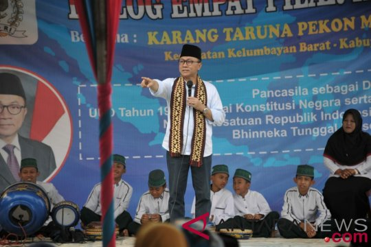Zulkifli Hasan ingatkan tak boleh ada keributan jelang Pemilu 2019
