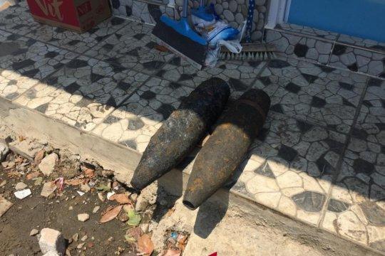 Mortir ditemukan saat Kali Damai dinormalisasi