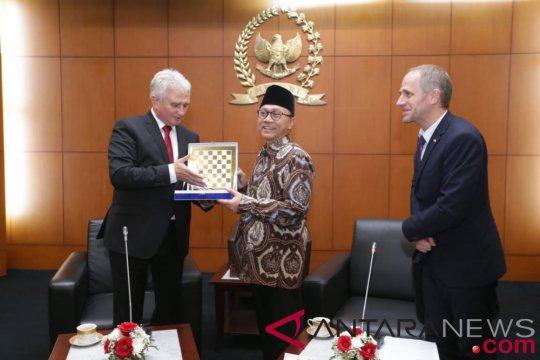 MPR harapkan kerjasama Indonesia-Ceko meningkat dalam berbagai bidang
